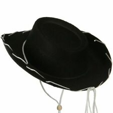 628c7bc56bf311 Black Felt Cowboy Child Hat Woody Toy Story Jessie Cowgirl Sheriff Costume  Movie