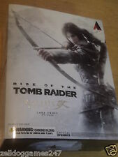 Rise of the Tomb Raider Lara Croft Play Arts Kai Figura-Nuevo y Sellado