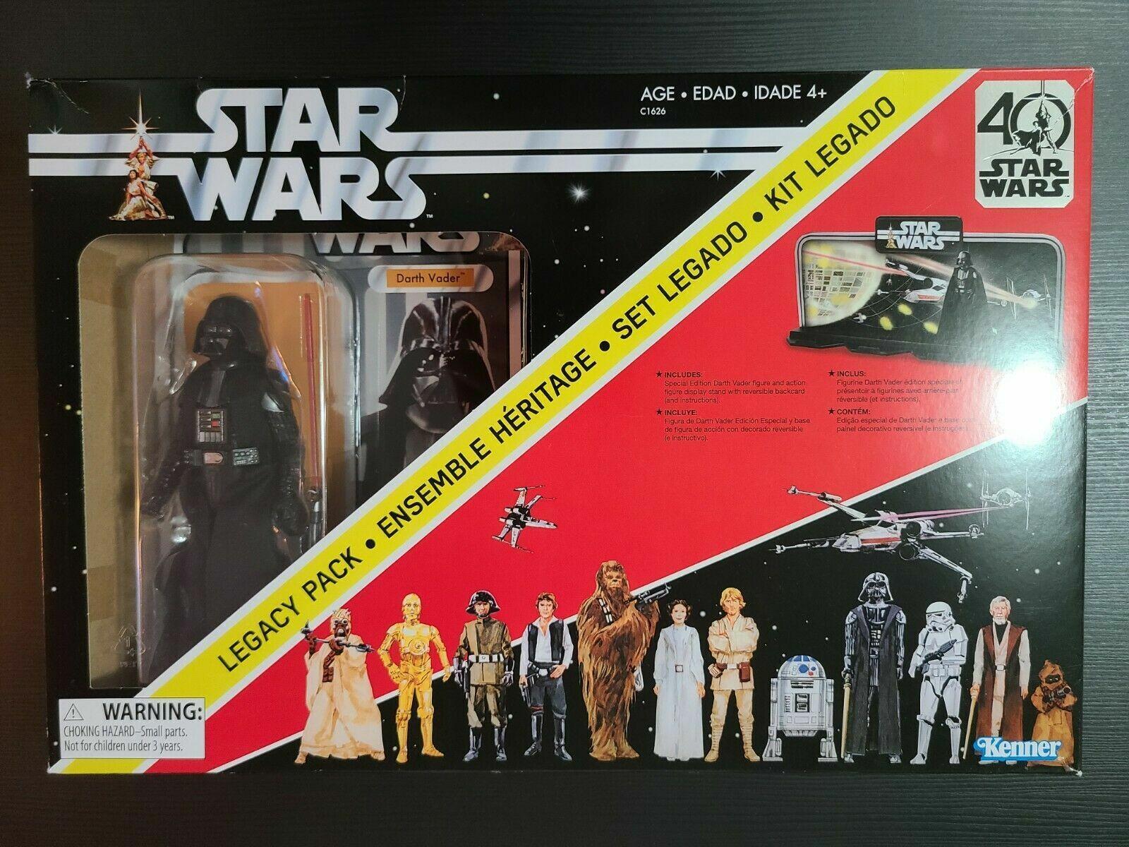 new in box environ 15.24 cm Star Wars Black Series 40th Anniversary Darth Vader 6 in