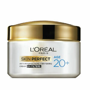 L-039-Oreal-Paris-Age-20-Skin-Perfect-Cream-UV-Filters-50g-Cure-pimples-amp-blemishes