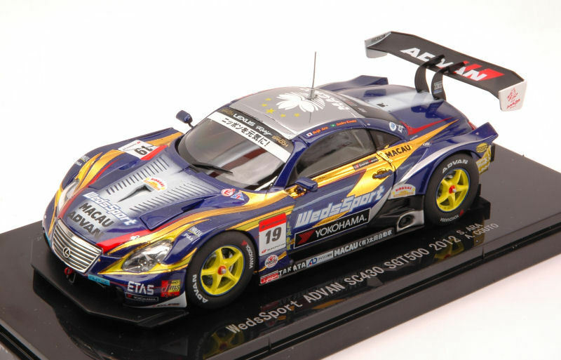 Lexus SC430 #19 7th Super Gt500 2012 Ara / Couto 1:43 Model 44740 EBBRO | élégante