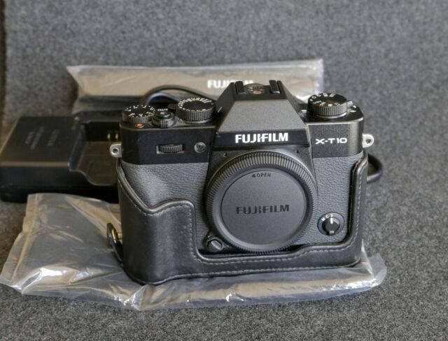 Fujifilm X-T10 16.3 MP Digital Camera - Black (Body Only)