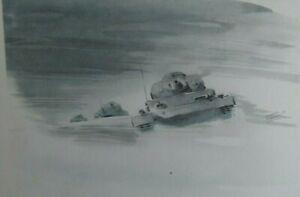 WW-2-Kampfgebiet-Orel-Russland-Winter-1942-43-Panzer-im-Schneetreiben