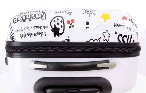 Valise rigide voyage bagage à roulettes 360° policarbonate ABS BB bande dessinée
