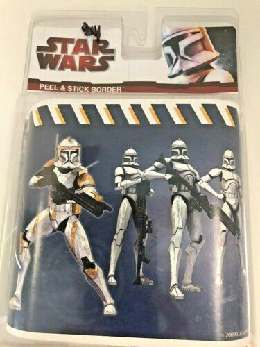 Star Wars Clone Wars Peel and Stick Wallpaper Border