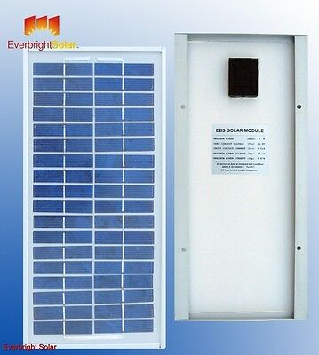 8 Watt Solar Panel 12 Volt for Battery Charging, Ideal for small application