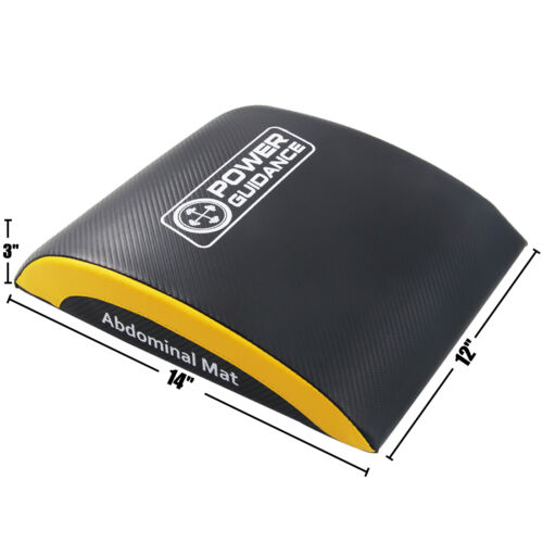 POWER GUIDANCE Ab Exercise Mat Core Abdominal Trainer For Cross Sit Up Training