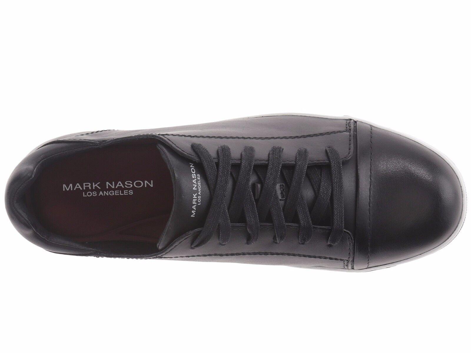 NIB Mark Nason Men Shaver Schuhes Navy Leder Oxfords Casual Schuhes Shaver sz 9M 04af97