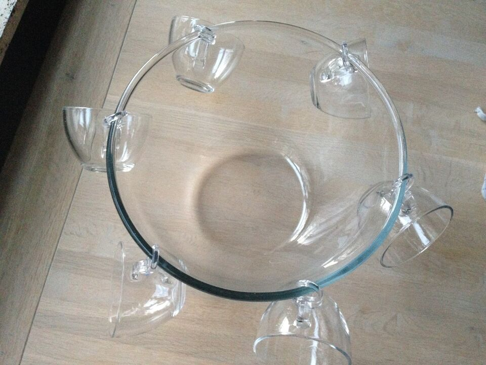 Glas, Glasbowle, Bodum
