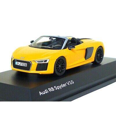 Audi R8 Spyder V10 143 Vegas Yellow 5011618531 Model Car Genuine