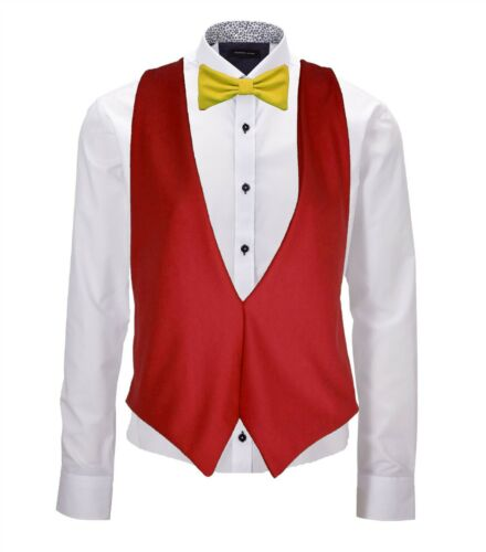 Spain Country Flag Espana Waistcoat /& Bowtie Fancy Dress Set Accessory