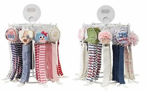 Mud-Pie-E8-Baby-Boy-Loop-Pacy-Pacifier-Clips-Football-Puppy-Dino-etc-Choose