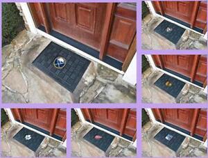 NHL-Licensed-Vinyl-Door-Mat-Area-Rug-Floor-Carpet-Man-Cave-Choose-Your-Team