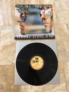 George-Harrison-034-Thirty-Three-amp-1-3-034-Orig-1976-Dark-Horse-Gatefold-LP