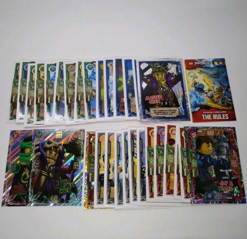 Lego Ninjago Trading Cards Bundle of 30 inc Ultra Lloyd 31 /& Master Chen 63