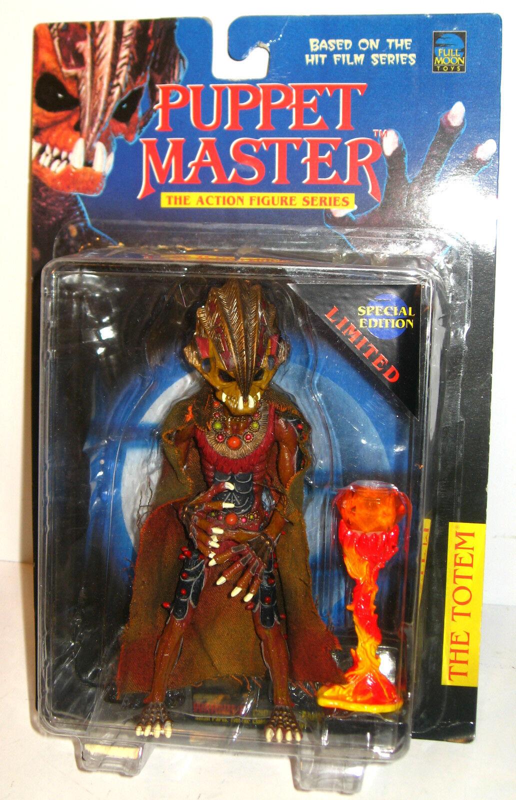 Puppet Master the Totem Action Figur Full Moon leksaker Ca.19cm New (L)