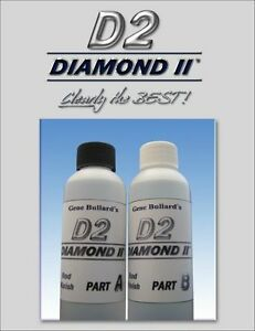 2 Oz (environ 56.70 G) Rod Builders Finition Kit, Diamond Ii Rod Building Finition/epoxy/revêtement-oatingfr-fr Afficher Le Titre D'origine