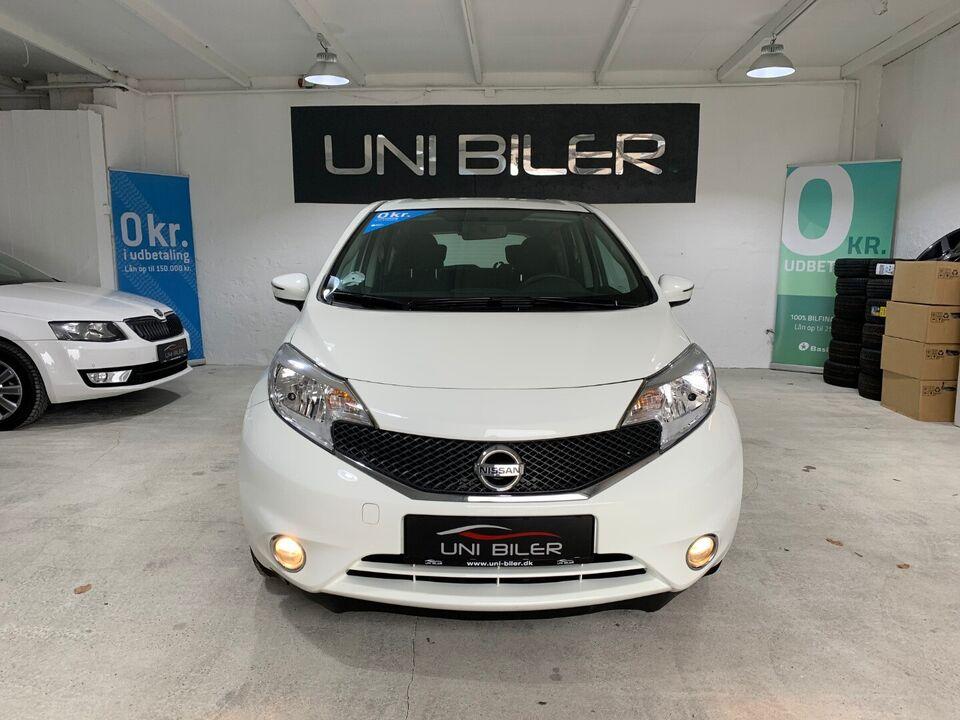 Nissan Note 1,5 dCi 90 Acenta Diesel modelår 2014 km 153000