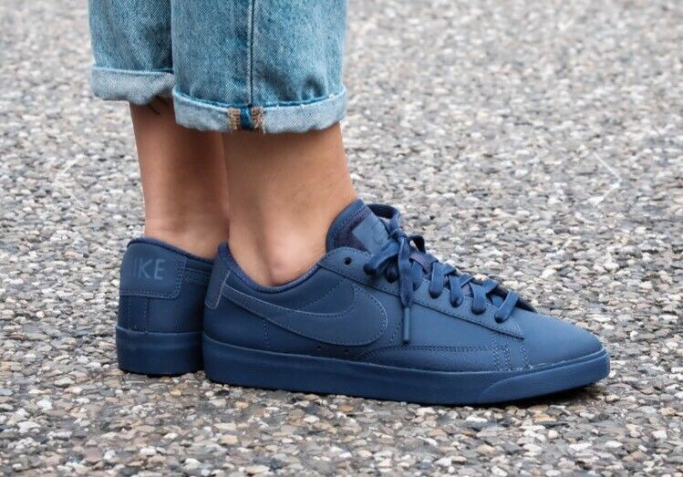 nike  's blazer faible pinnacle 7 neutre aa3967 d'indigo taille 7 pinnacle 500 b502d1