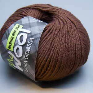 Lana-Grossa-Mc-Wool-Merino-Mix-140-428-burro-50g-Wolle-5-90-EUR-pro-100-g