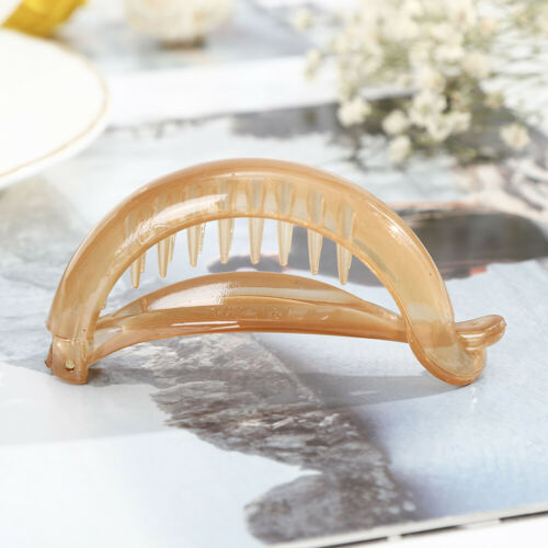 Fashion Women/'s Hair Claws Clips Barrette Banana Clip Ponytail Hair Accessories