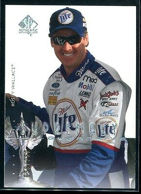 2000 SP Authentic Overdrive Silver 81 Rusty Wallace 39/250