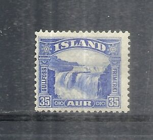 ICELAND SCOTT'S #172 MINT OLD GULLFOSS SINGLE POSTAGE STAMP FREE US SHIPPING