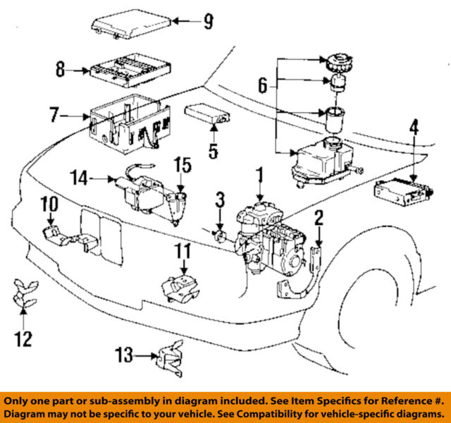 34521158706 bmw 3 series abs control unit ecu module wire e30 ebay rh ebay com