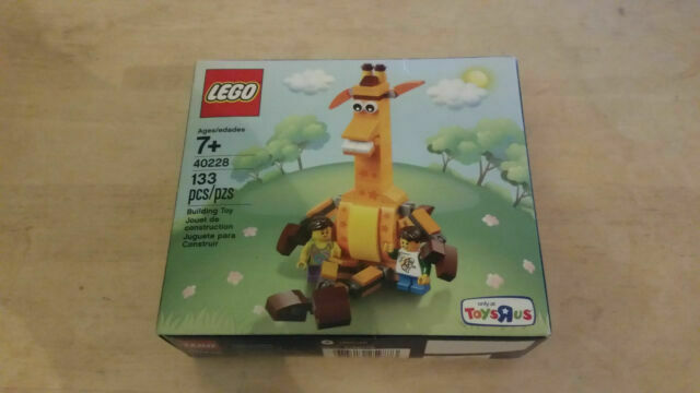 "New Toys /""R/"" Us LEGO The Giraffe Geoffrey and Friends Exclusive Set 40228 TRU"