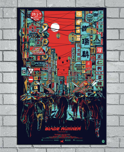 D-782 Hot Blade Runner 2049 Harrison Ford 27x40IN fabric Art Poster