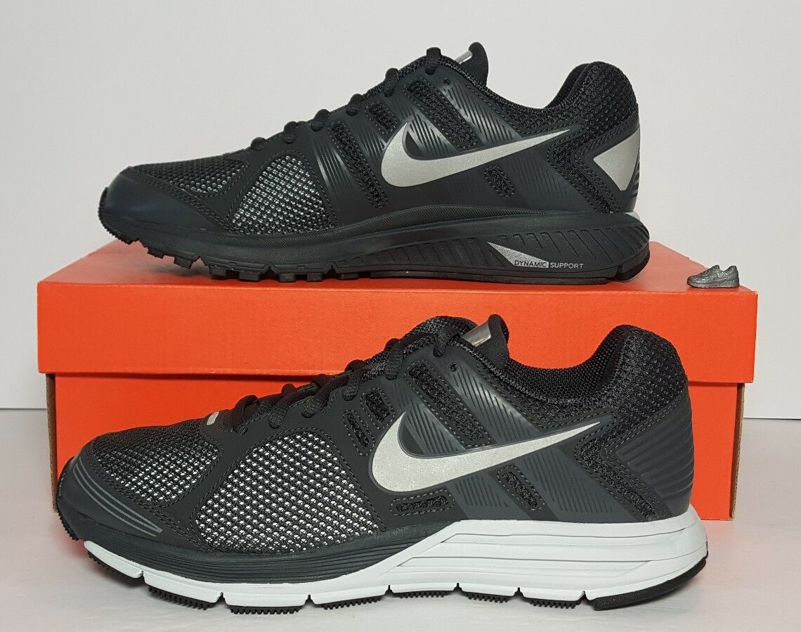 NIKE MEN'S ZOOM STRUCTURE+ 16 SHIELD NEW BOX MULTIPLE SIZES 536941 001 H2O REPEL