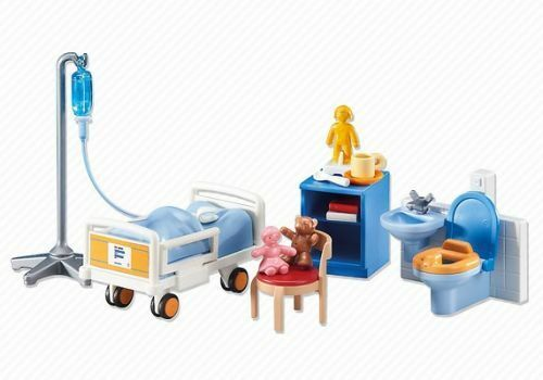 Playmobil Add On 6444 Children's Hospital Room