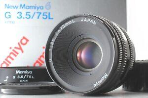Parte-Superior-optico-Perfeito-Com-Capuz-Caixa-Mamiya-G-75mm-f-3-5-6-Novo-Para-L-Do-Japao-1065