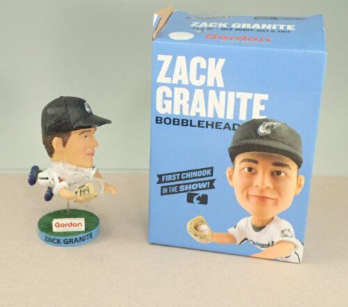 2018 Lakeshore Chinooks Texas Rangers Twins Zack Granite Bobblehead In Box