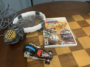 SKYLANDERS SUPERCHARGERS: Wii Crypt Crusher Figure Portal & Racing Game LOT
