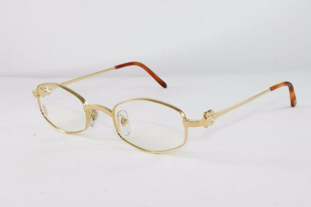 326738e1fc8 Cartier Octagon Gold Eyeglasses T8100426 Frames Authentic France New 48 mm