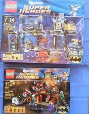 Lego RETIRED 2 Sets ** Joker Funhouse 6857 + BatCave 6860 ** Batman Harley Quinn