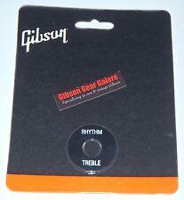 Gibson Prwa-020 Switchwasher Black W / White Imprint Switch Washer