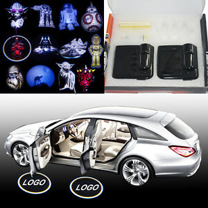 Image is loading NEW-Star-Wars-Heros-Wireless-car-door-LED- & NEW Star Wars Heros Wireless car door LED logo shadow projector ...