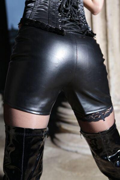 HOT Sexy PANTS Kunst LEDER S M L XL XXL XXXL XXXXL Kunstleder W652 Dessous