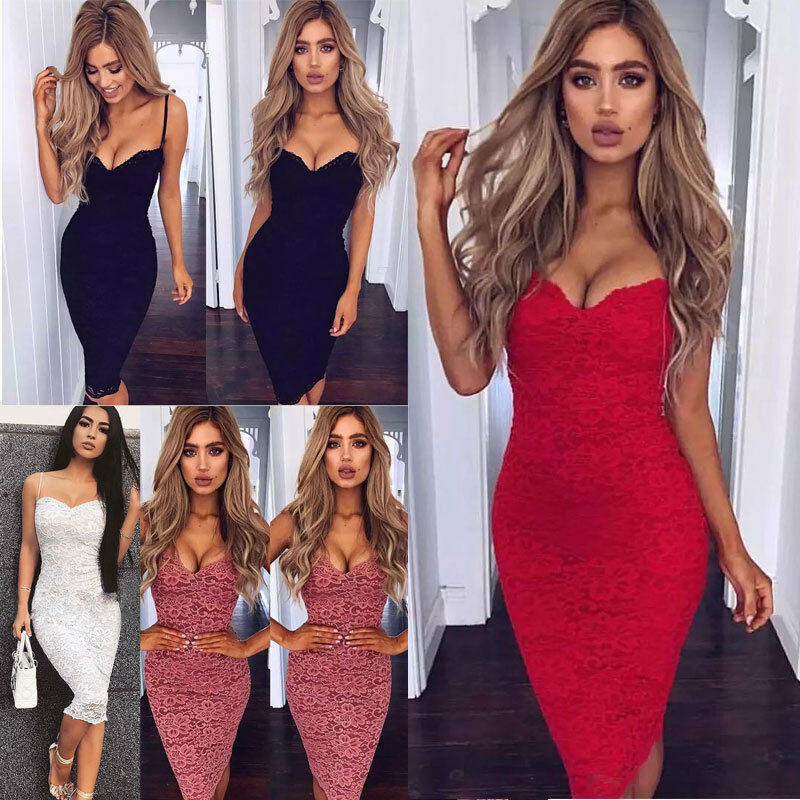 Awesome New Women Summer Casual Bandage Bodycon Evening Party ...