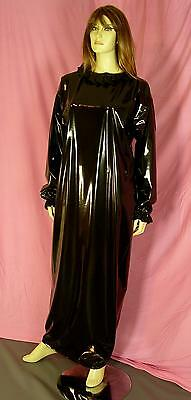 Zofenkleid Maid dress Cameriere vestono zofe devot NEU PVC black