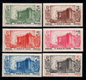 Francais-declare-l-039-Oceanie-1939-Yv-130-134-PA-2-Neuf-100-Revolution-45-c