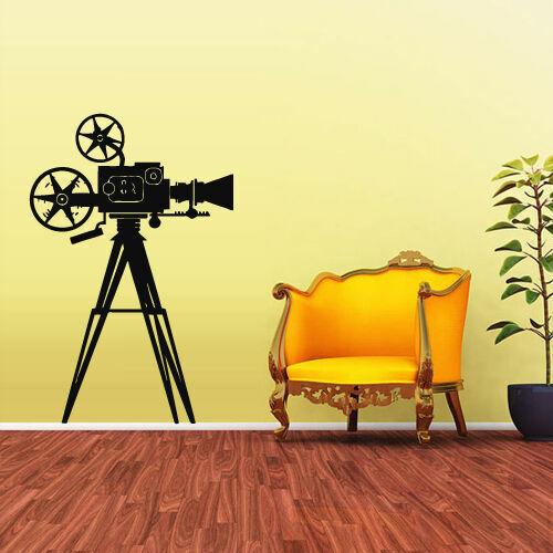 Wall Decal Vinyl Sticker Photo Camera Studio Video Cinema Salon Retro Z1910