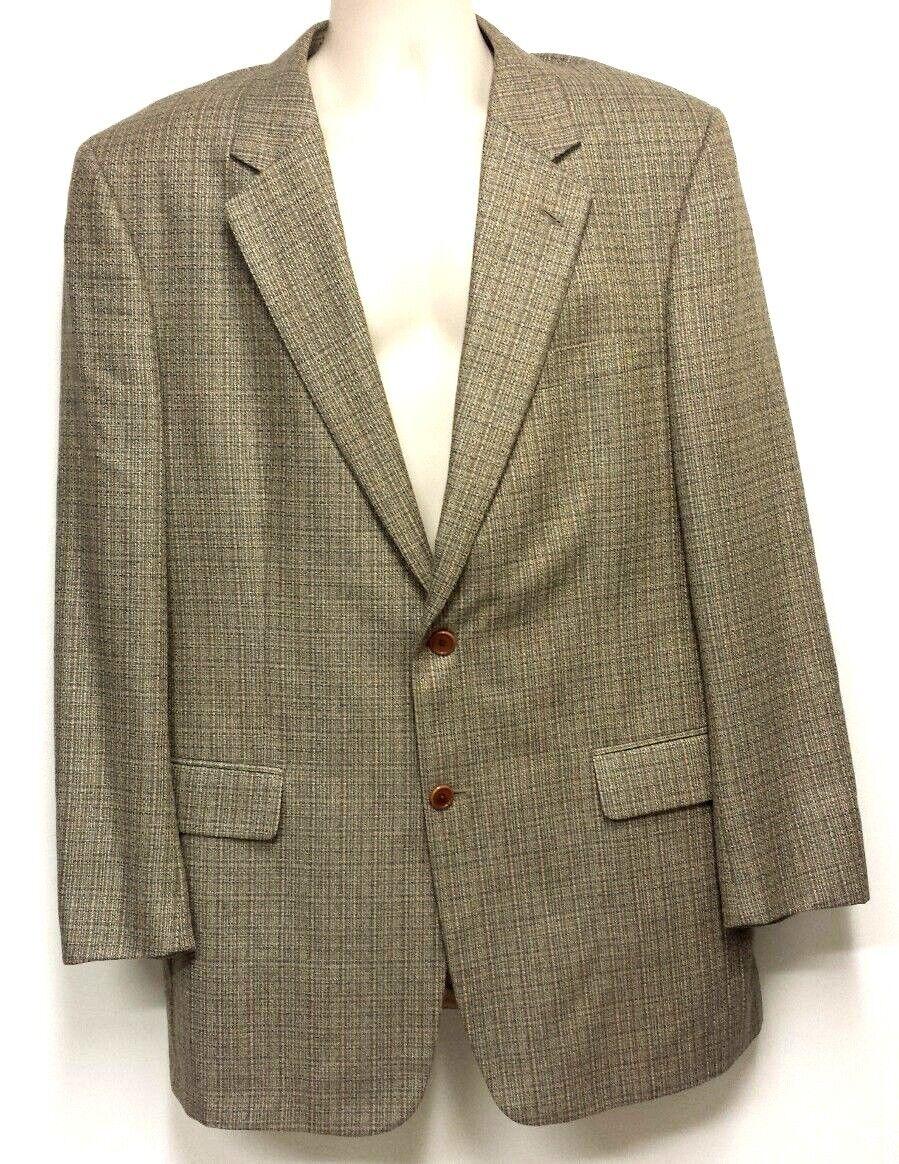 Jos A. Bank Signature Collection Brown Sport Coat Blazer 44L