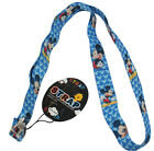 Cartoon Blue Mickey Mouse Boy Keys Lanyard Cell Phone Neck Strap ID Holder Strap