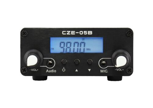0.5W CZH-05B Stereo PLL FM Radio Broadcast Station Transmitter Antenna Power