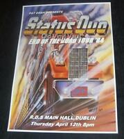 Status Quo concert poster R.D.S Dublin 1984 End Of Road Tour new A3 size repro