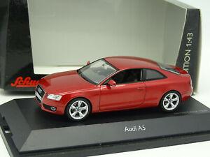 Schuco-1-43-Audi-A5-Rouge