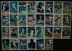1994-Topps-LOS-ANGELES-DODGERS-Complete-Team-Set-30-PIAZZA-ALL-STAR-ROOKIE-Sharp
